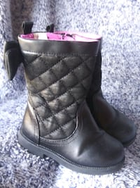 Koala Kids Sz 5 Blk Dress Boots