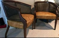 Two captain chairs. Nice for small foyer Hagerstown, 21740