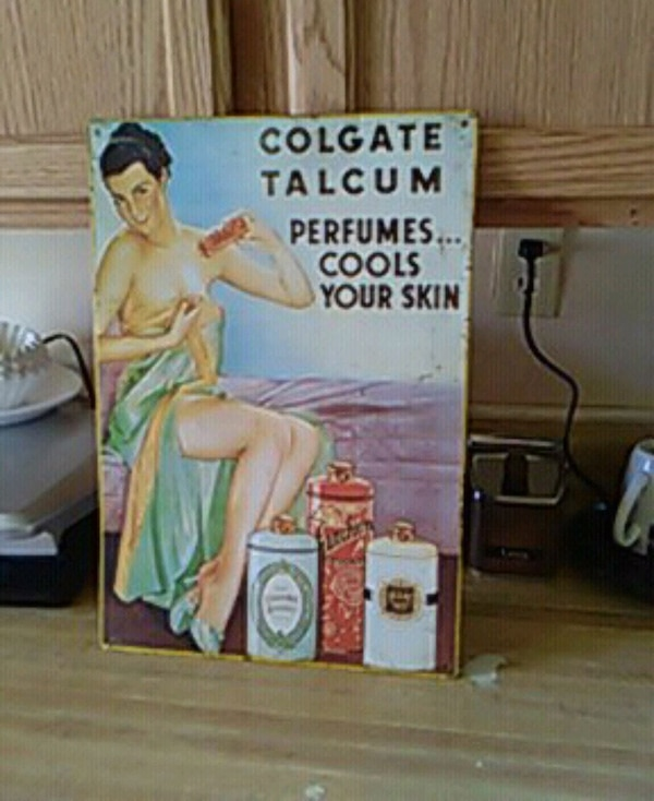 Colgate Talcum perfumes cools your skin poster
