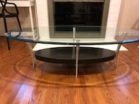black and gray TV stand Potomac, 20854
