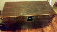 brown wooden single drawer chest Fort Worth, 76105