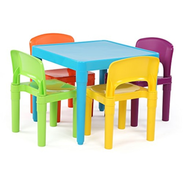 Surprising Buy Tot Tutors Kids Plastic Table And 4 Chairs Set You Should See This Magnificent Different Interior Design Ideas Gresisoteloinfo