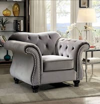 BRAND NEW! Glam Sofa (large) and Chair Churchville