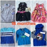 Brand new carters baby clothes 18 months Toronto, M5J 2Y4