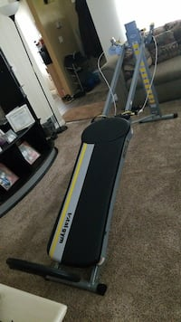black and gray Altis treadmill