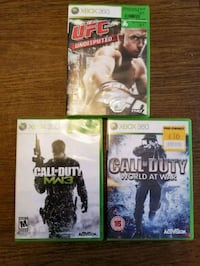 Call of Duty and UFC games Oakville, L6L 1W1