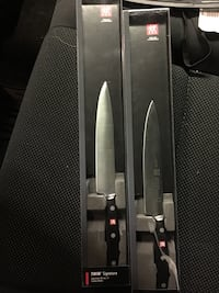 TWO Brand NEW Zwilling. J.A. Henckels kitchen knife