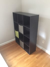 Black wooden 12-cube organizer Rockville, 20852