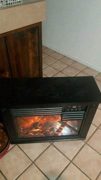 black and brown electric fireplace Albuquerque, 87110