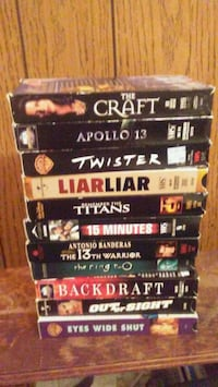 VHS movies- $1 each or $40 for all London, N5W 4V7