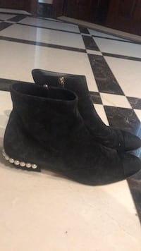 Chanel suede black boots New York, 11366