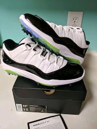 Jordan Retro 11 Golf size 11.5 Columbia