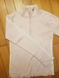 white zip-up hoodie Brooklyn, 11224