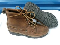 pair of brown leather work boots Orlando, 32835