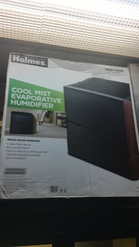 Holmes cool mist evaporative humidifier