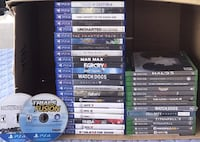 PS4 Games+Xbox One Games! NOT FOR SALE AS A WHOLE! Read Description! Brampton, L6Y 4G6