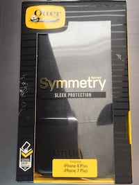 Fast buyer discount: OtterBox - Symmetry Series Case for Apple® iPhone® 7 Plus and iPhone 8 Plus - Black SF, 94117