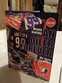 "Wayne Gretzky ""An Oiler Forever""  publ  by Edm Sun"