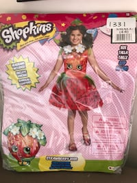 Brand new child shopkins costume Whitby, L1M 1H5
