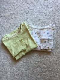Girls - Set of Two Long Sleeve Tops -Age 4 Falls Church, 22043