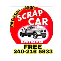 We pay Cash for junk cars suv and trucks  Capitol Heights, 20743