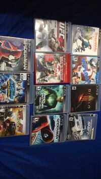 11 ps3 games (10 each or best offer) Calgary, T2Y 4X7