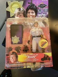 Chips John collectible doll  Surprise, 85379