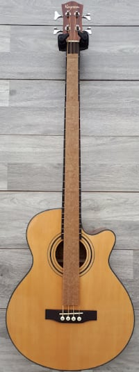 Acoustic Bass Guitar 4 string Natural brand new Markham