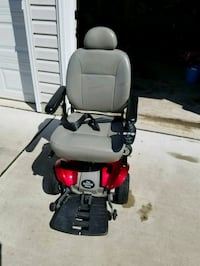 black and red motorized wheelchair Perry Hall, 21128