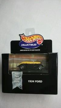 HOT WHEELS COLLECTIBLES 1934 FORD REAL RIDER  Ontario, L4L 1V3