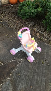 toddler's pink and white trike Oklahoma City, 73139