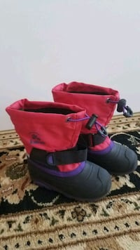 Boots and shoes for girl