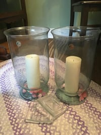 Large candle holders and candles  Mississauga, L5B 0H2