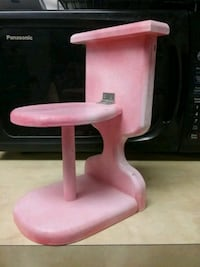 pink wooden spare toilet paper holder decor Saskatoon, S7J 1X2