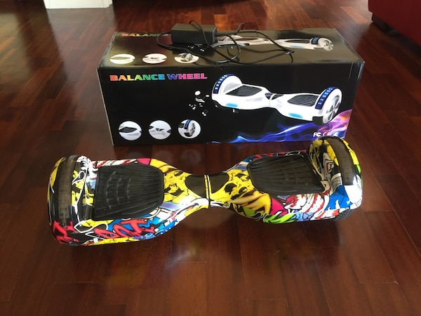 HOVERBOARD GRAFFITI CON LED E BLUETOOTH