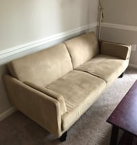 Tan Futon Couch