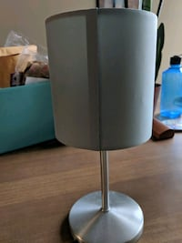 Ikea INGARED Table lamp with LED bulb - light teal
