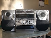 gray and black stereo component Winnipeg, R2K 4A1