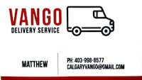 delivery  Calgary
