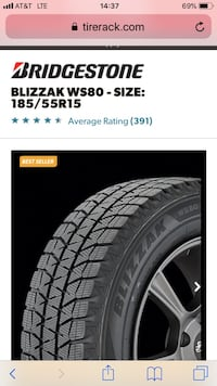 Winter Tires for SUVs (4 wheels) 464 mi