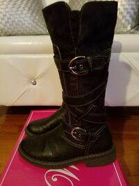 Black Leather Boots size 8 1/2 Baltimore, 21206
