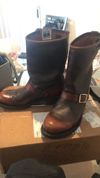 Brown FRYE leather riding boots Ashburn, 20147