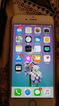 iPhone 6 64gb silver with case Toronto, M2J 3H1