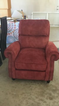Recliner Brand New the seat is Cussiony. Walnut, 91789