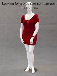 Looking for a plus size mannequin  Fontana, 92337