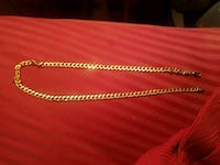red and gold chain necklace Mount Carmel, 17851