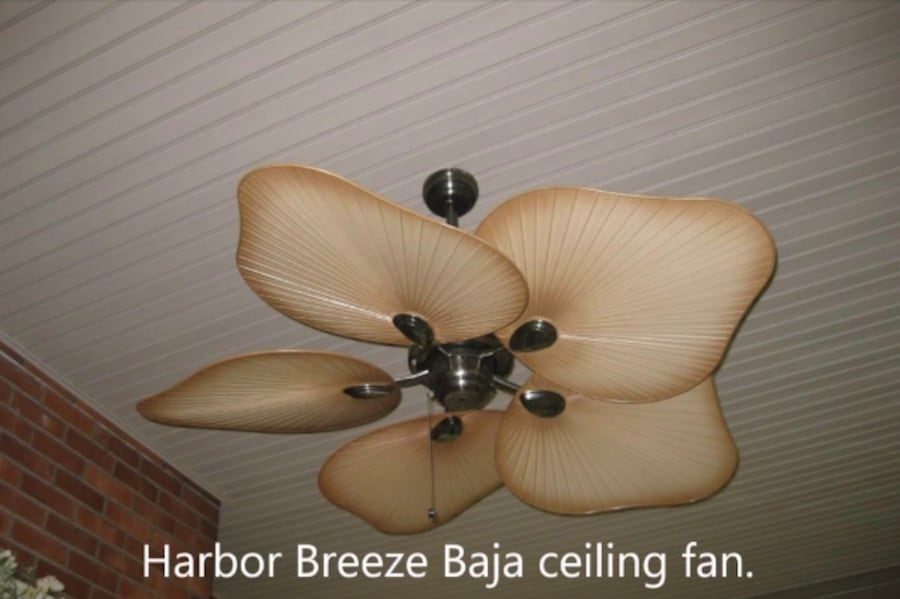 Used Harbor Breeze Baja 52 Ceiling Fan