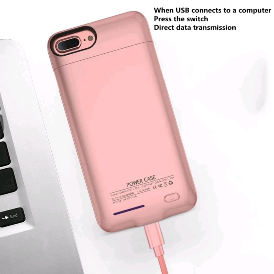 suqy Rechargeable Battery Charger Case for iphone Models