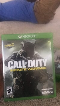 Call of Duty Infinite Warfare Xbox One game case Ellicott City, 21043