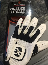 Men's professional golf glove like new one size fits all! Used once